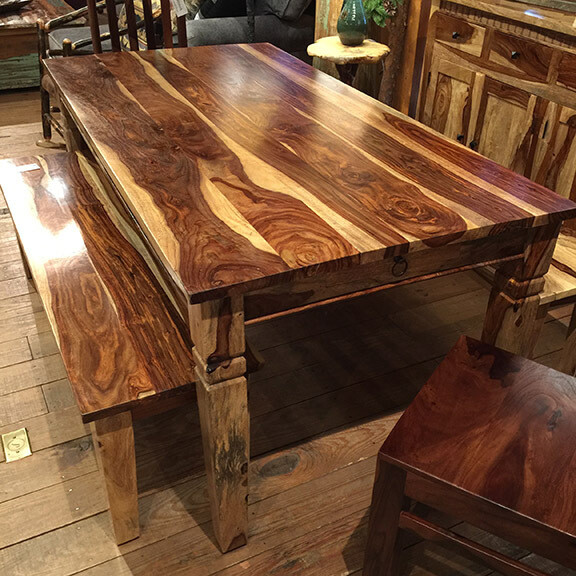 Rosewood Dining Table 69W 36D