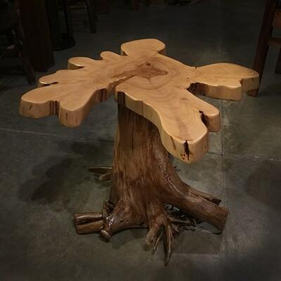 White Cedar Stump, Spruce Top