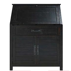 Villa Wood Drop Lid Desk