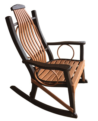 Hickory Porch Rocker (83)