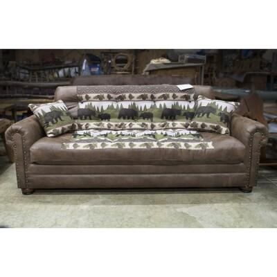Upholstered Lounger Sofa
