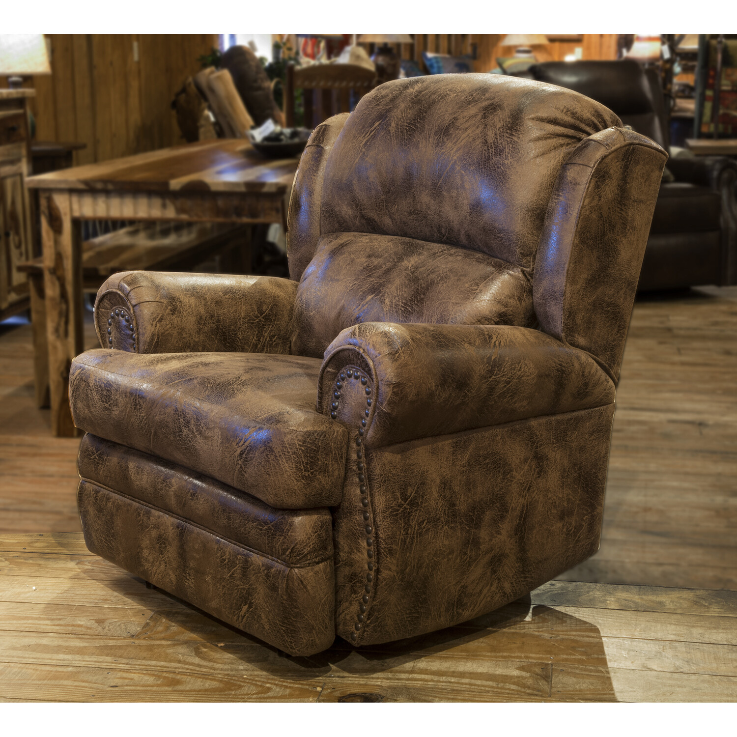 Wall Recliner w/Extended Footrest