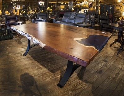 Mesquite 42x84 Dining Table with Base