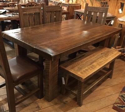 Barnwood Rectangular Dining Table