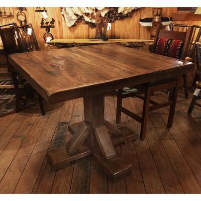 Reclaimed Barnwood Pub Height Table