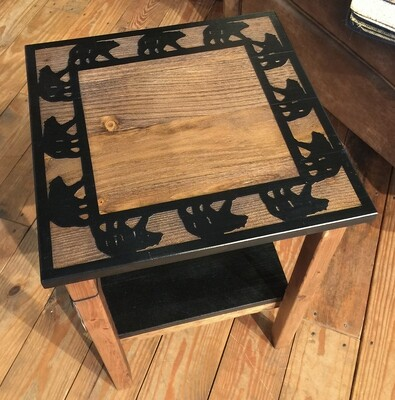 All Wood End Table