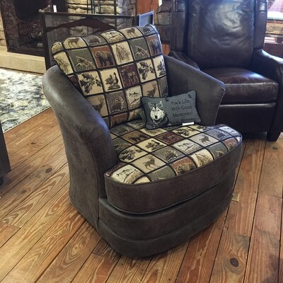 Swivel Glider Chair #2