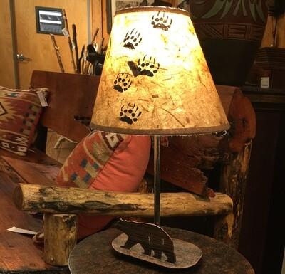 Mini Iron Bear Lamp