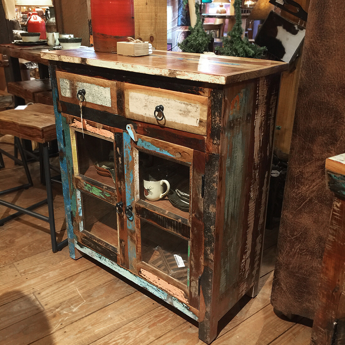 Recycled Glass Cabinet