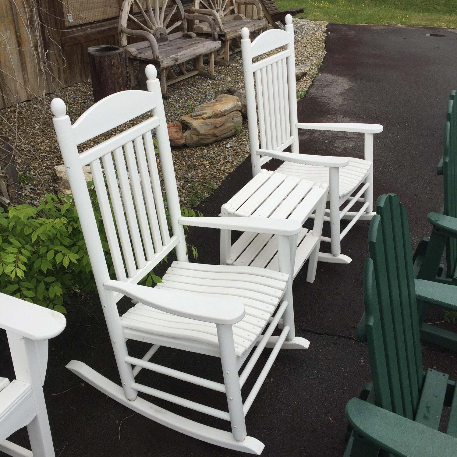 rocker Set with matching table  CALL FOR SPECIAL PRICE