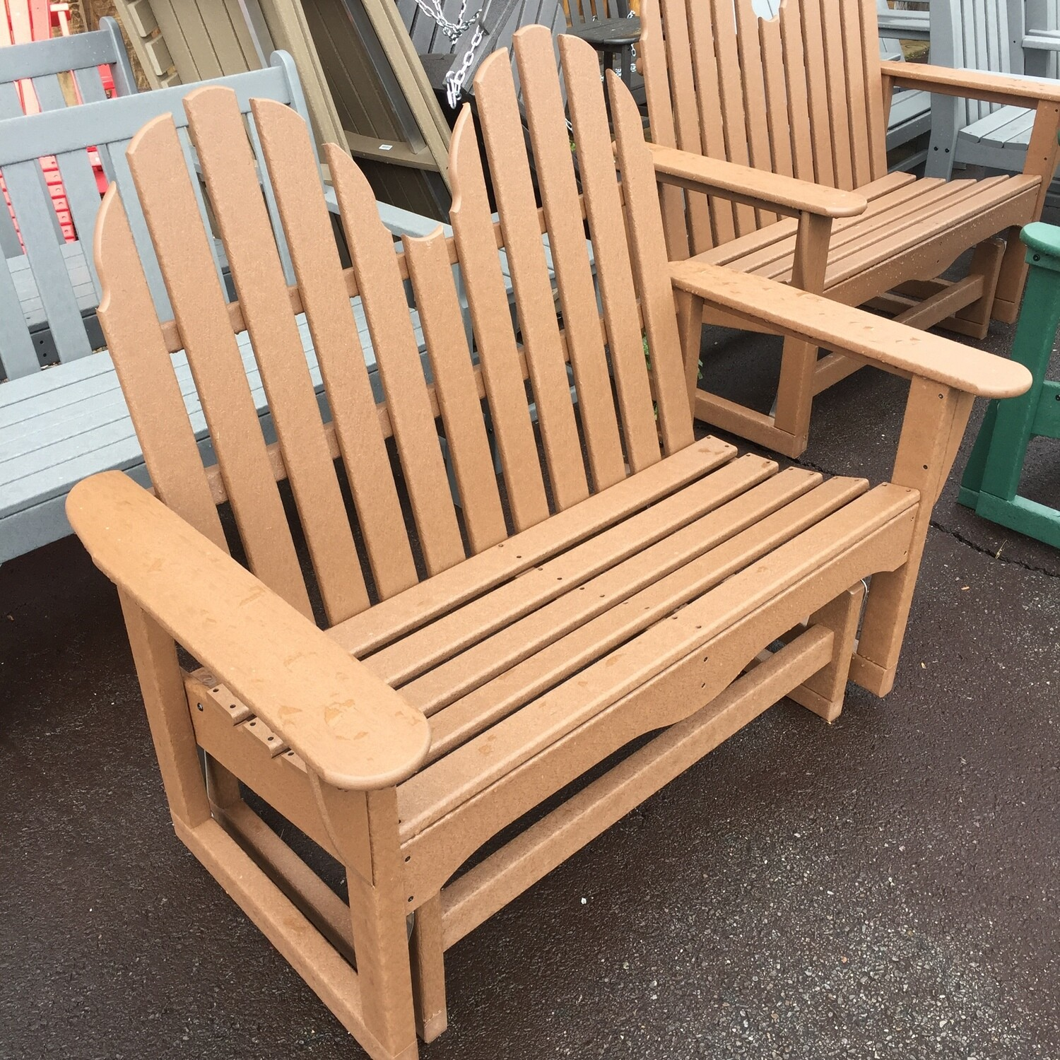 LOVE SEAT GLIDER   CALL FOR SPECIAL PRICE
