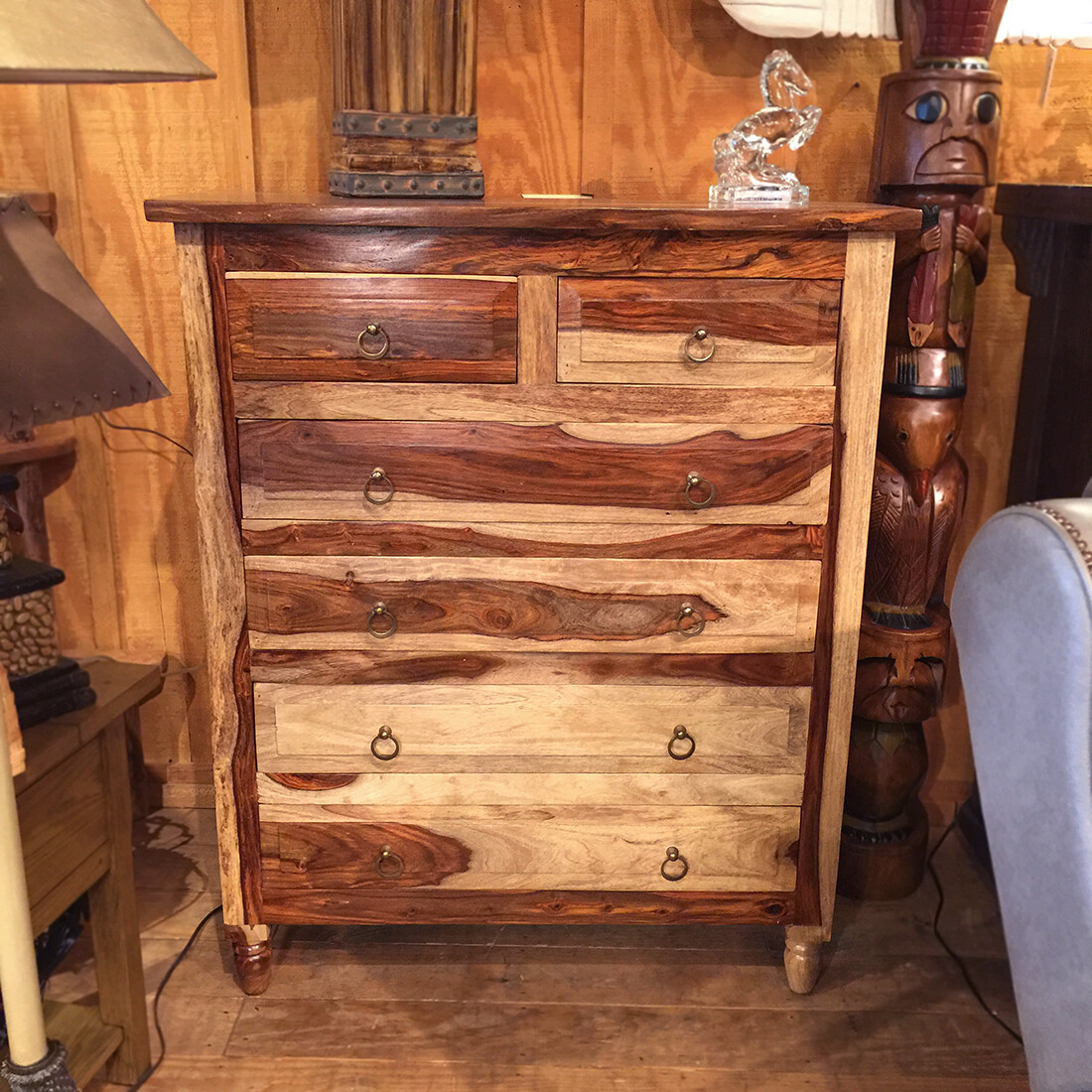 Rosewood Chest 38 X 46 X 18