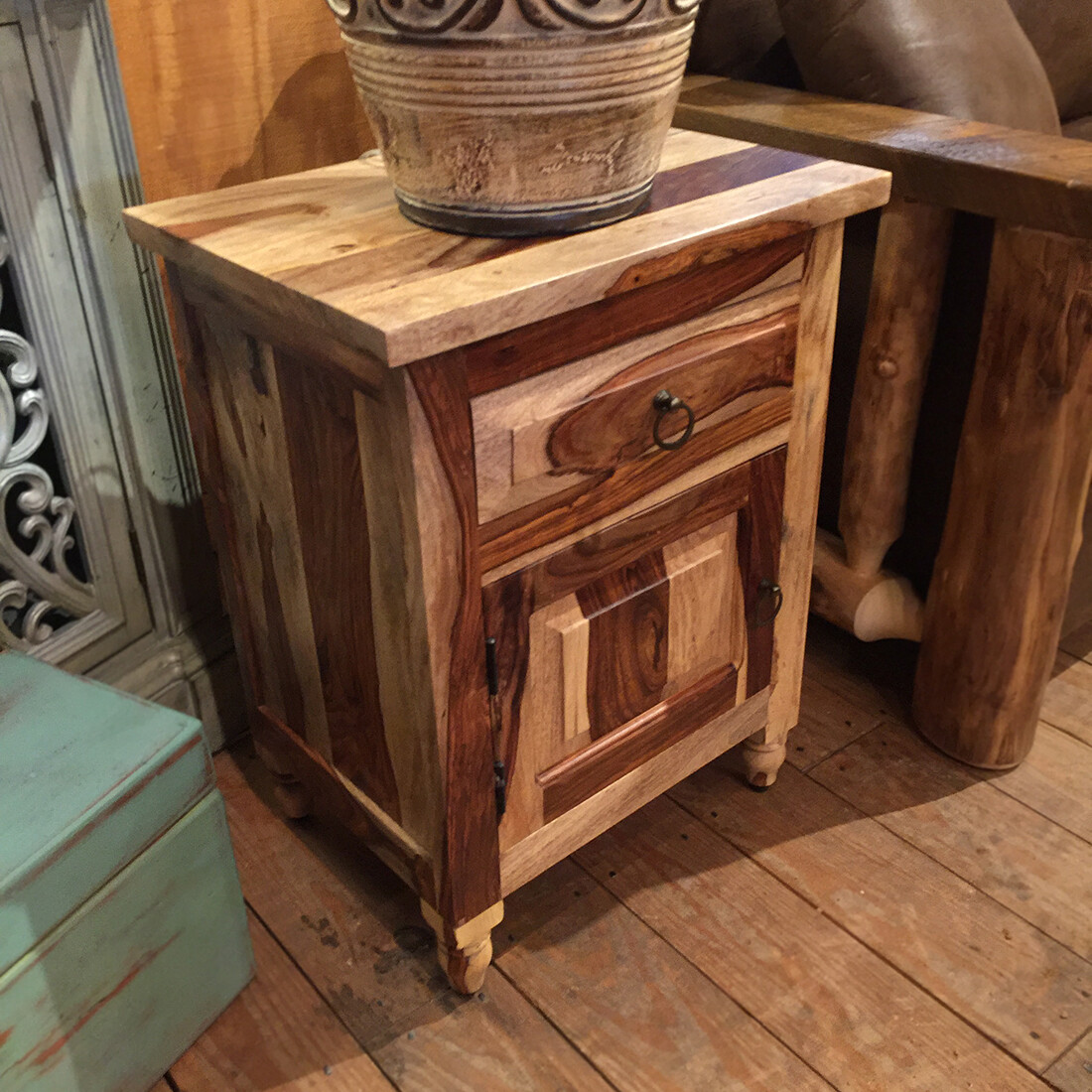 Rosewood Nightstand 20W 26H 15D