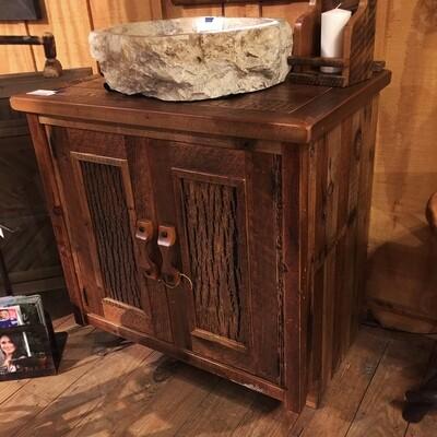 Stony Brooke 2 Door Vanity with Wood Top