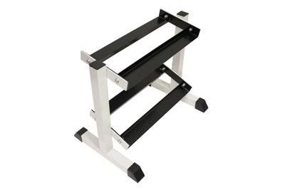 Miniature 2 tier, 5 pair Dumbbell Rack