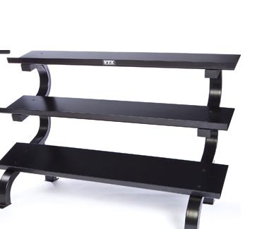 3-Tier Dumbbell Shelf Rack