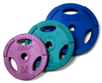 Troy Interlocking Color Grip Workout Plate