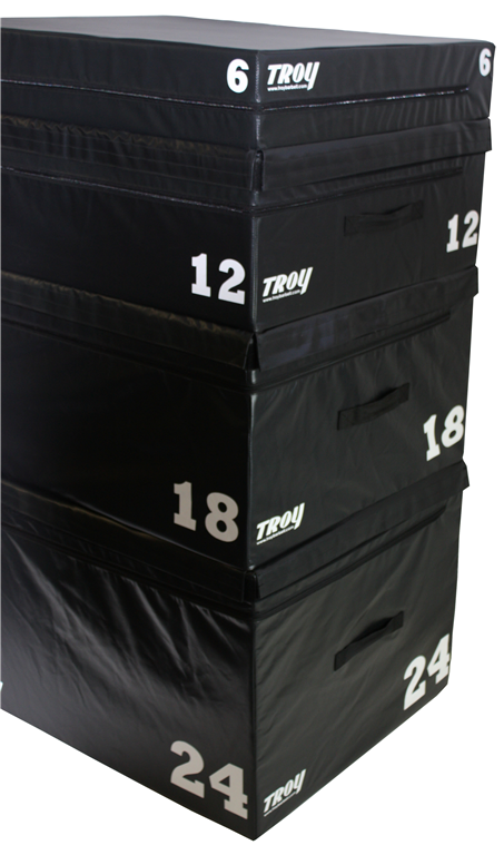Troy Soft Foam, Stackable Plyo Boxes