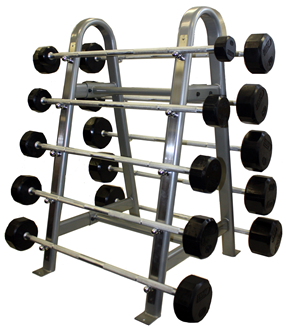 Troy Straight Rubber Barbell Pack