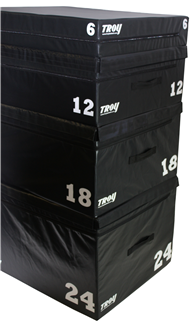 Troy Soft Foam, Stackable Plyo Boxes Pack