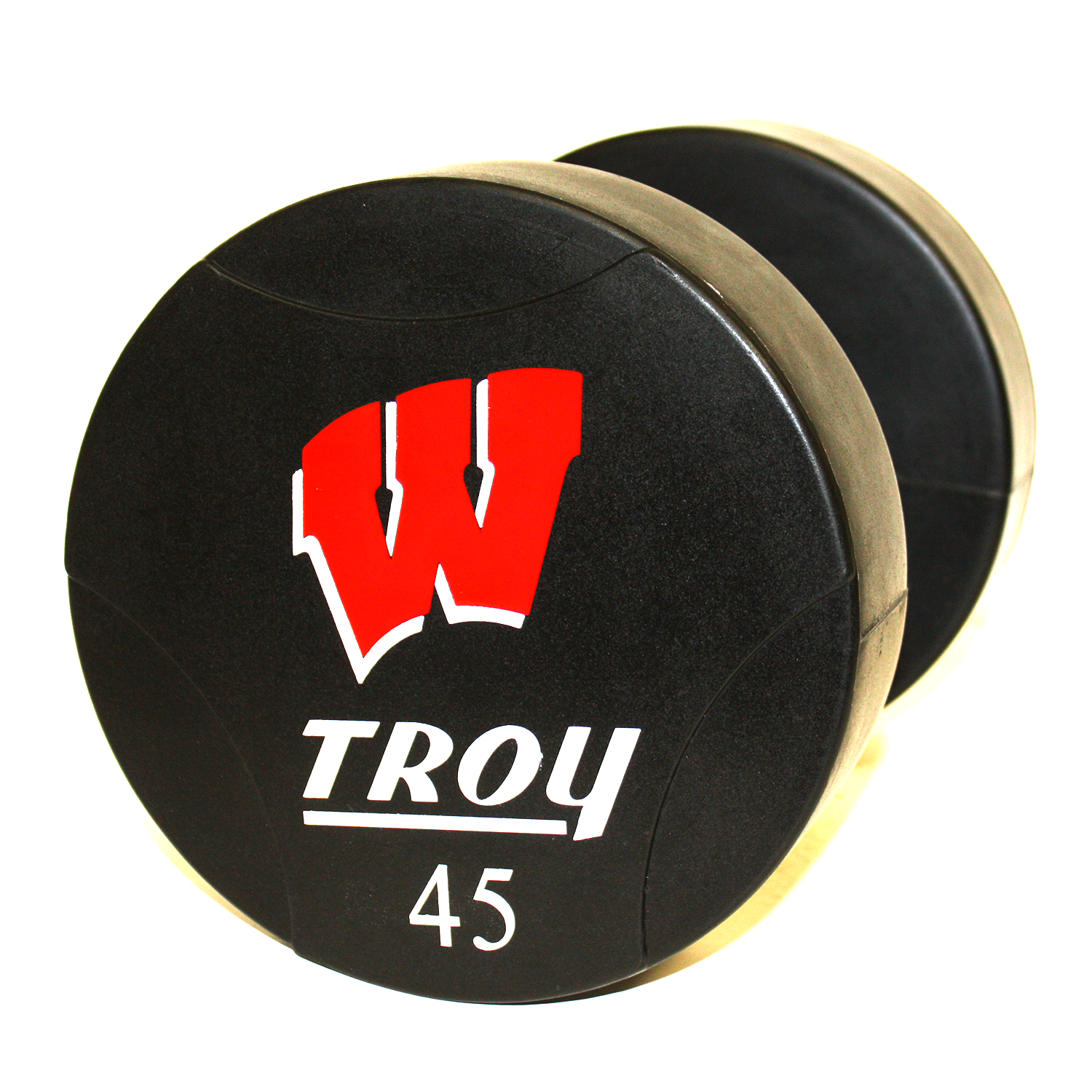 Troy Urethane Dumbbell (Custom Logo)