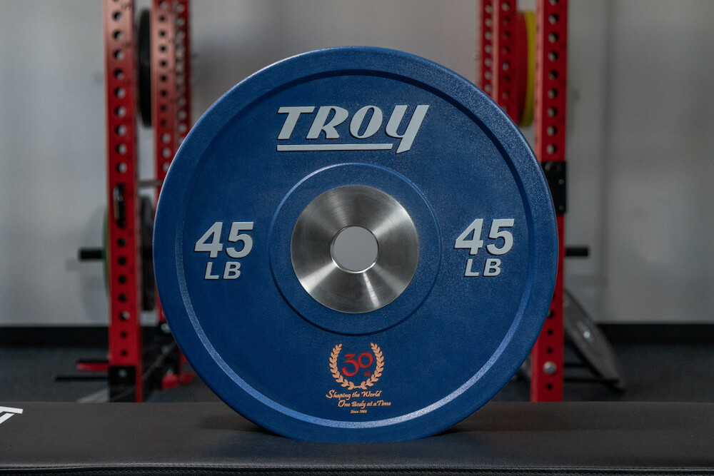 Color Custom Logo Bumper Plates