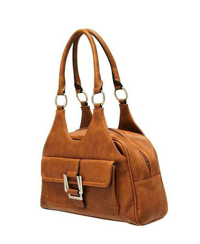 Classic Scoop Top Shoulder bag - Tan