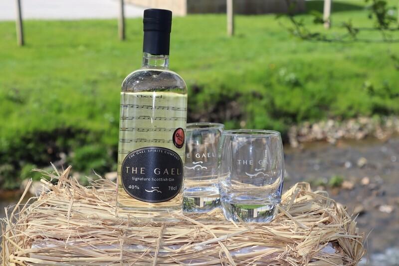 THE GAEL GIN & 2 GLASSES