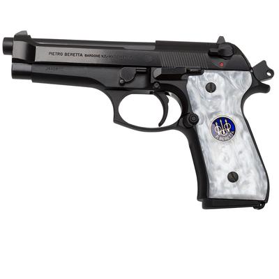 Beretta M9-92FS-96FS_White Pearlite Coin