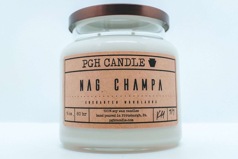 Nag Champa Soy Candle (2 Sizes)