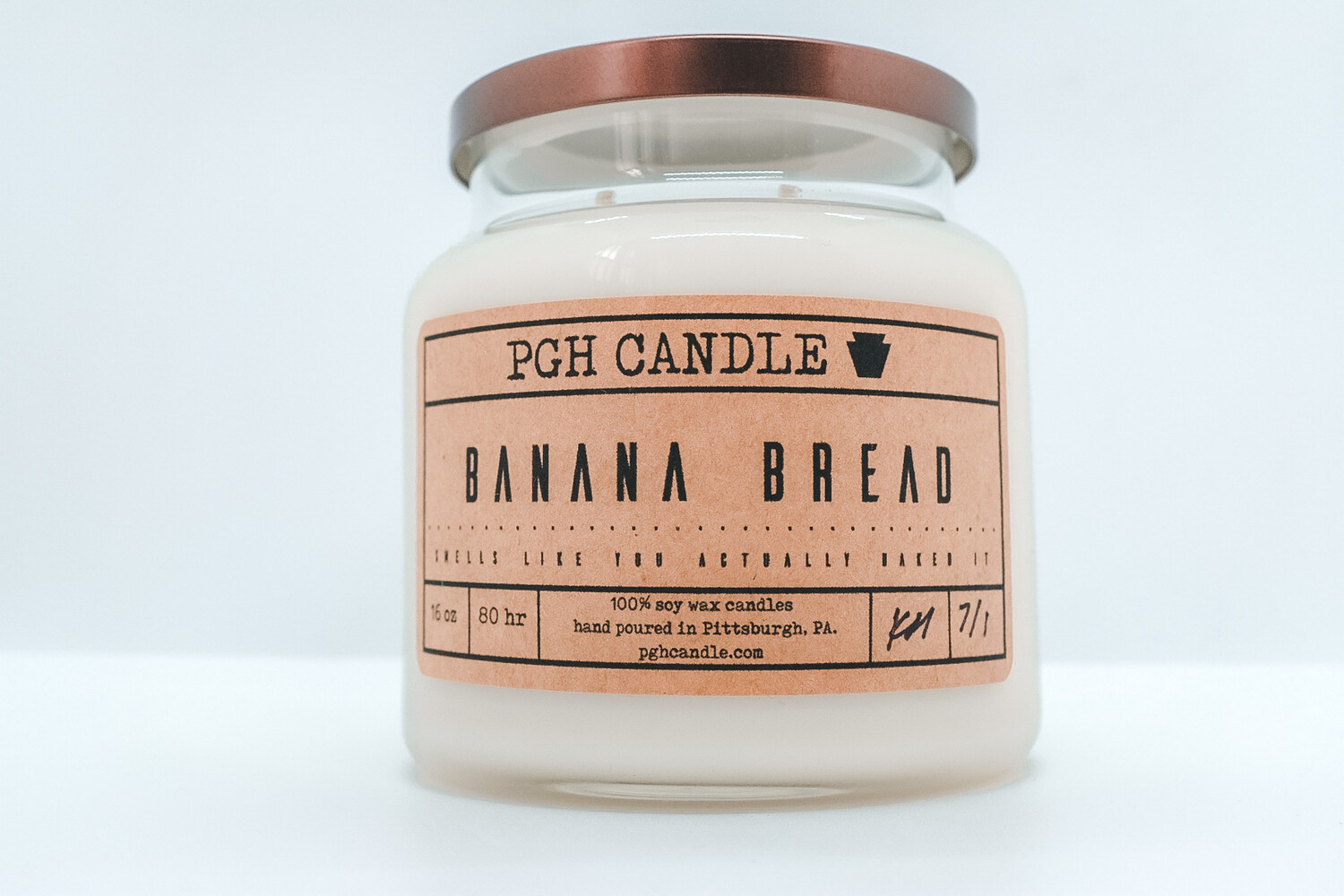 Banana Bread Soy Candle (2 Sizes)