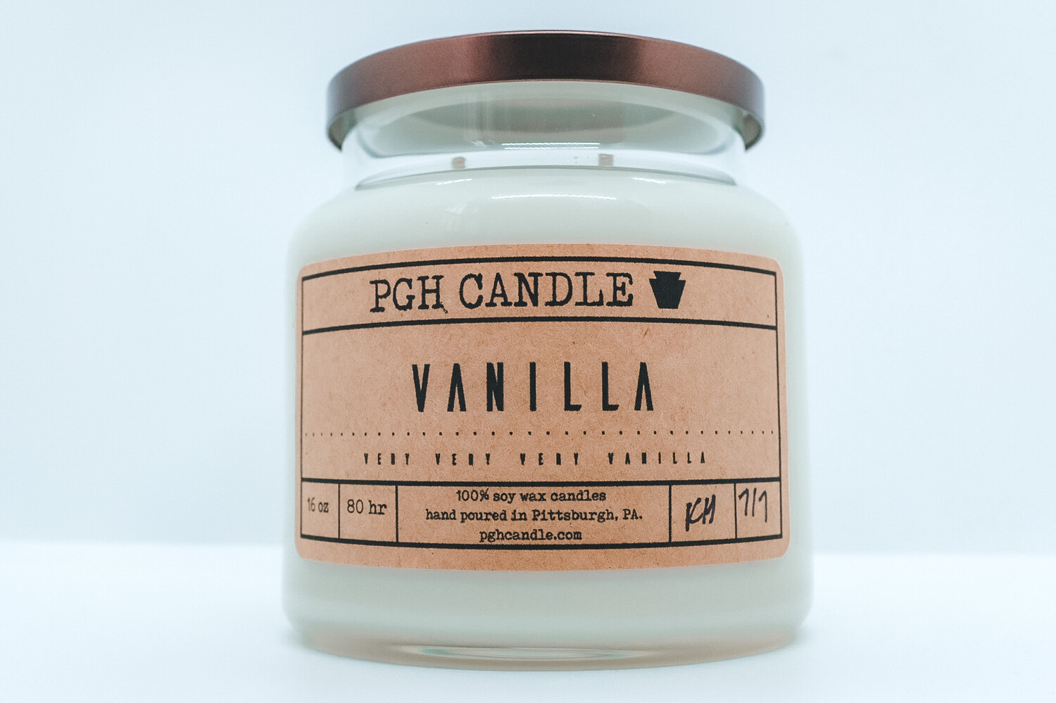 Vanilla Soy Candle (2 Sizes)