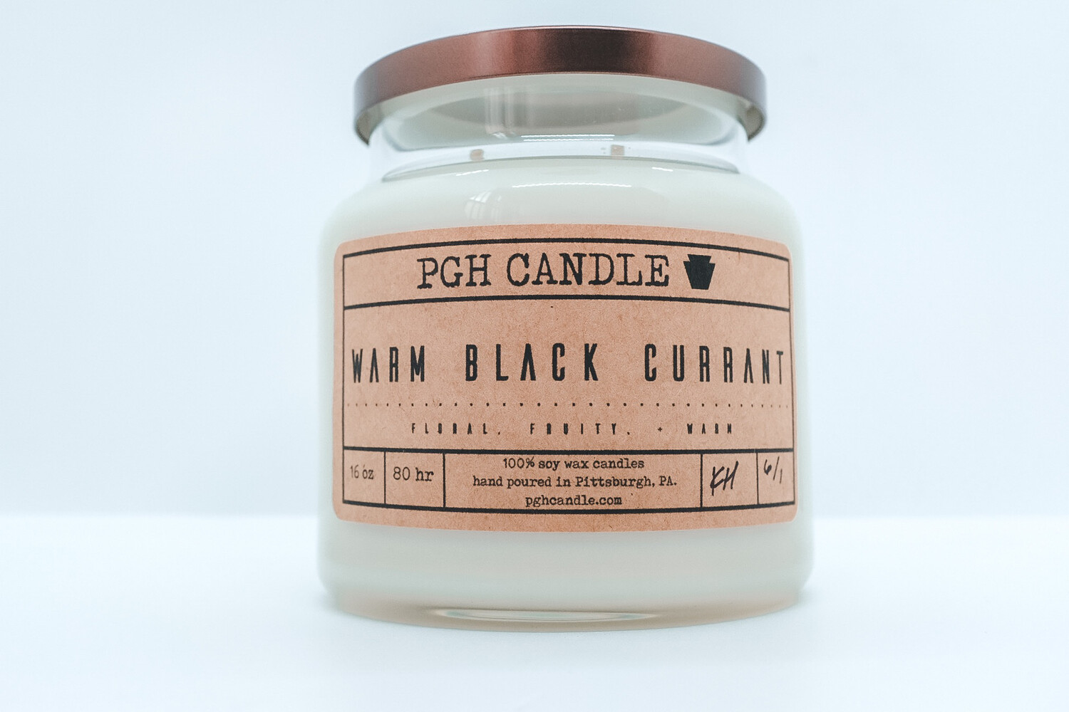 Warm Black Currant Soy Candle (2 Sizes)