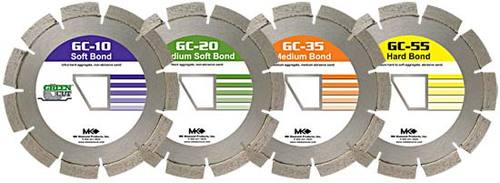 """MK GC20 166736 Early Entry Concrete Blade 13-3/8"""""""