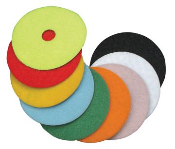 "Diteq 4"" Grit 100 Super Premium Dry Polishing Pad"