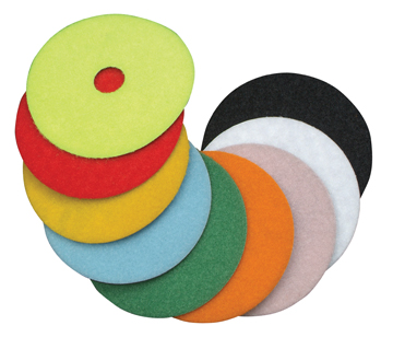 "Diteq 4"" Grit 50 Super Premium Dry Polishing Pad"
