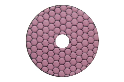 "Gluide Dry 4"" Diamond Polishing Pad 3000 Grit"