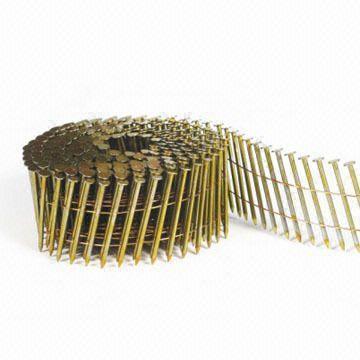 "Hitachi 2"" x.092 RingShank ElecGalv 13335 Coil Siding Nail"