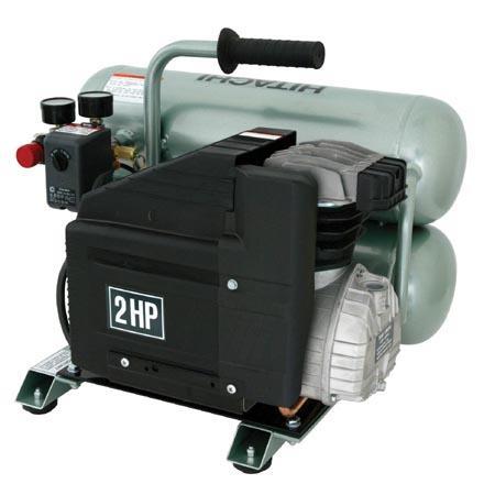 Hitachi EC12 Lubricated Portable 2 hp Electric Air Compressor