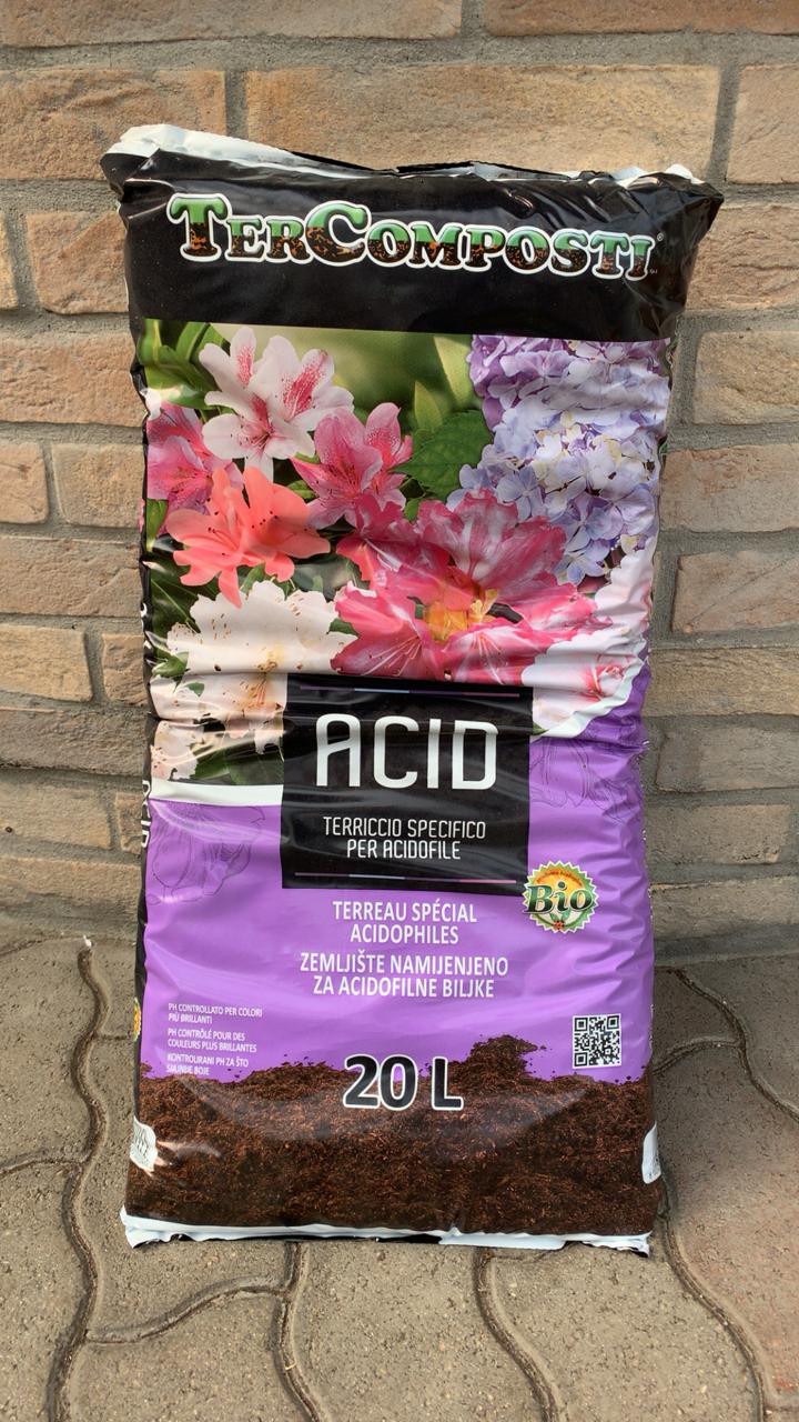 Terriccio per piante Acidofile 20L