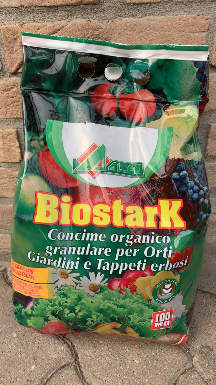 Concime Biologico Granulare Biostark 5kg