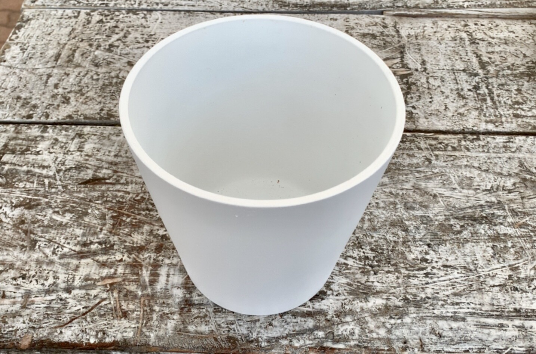 Vaso Cilindrico in Ceramica Diametro 17