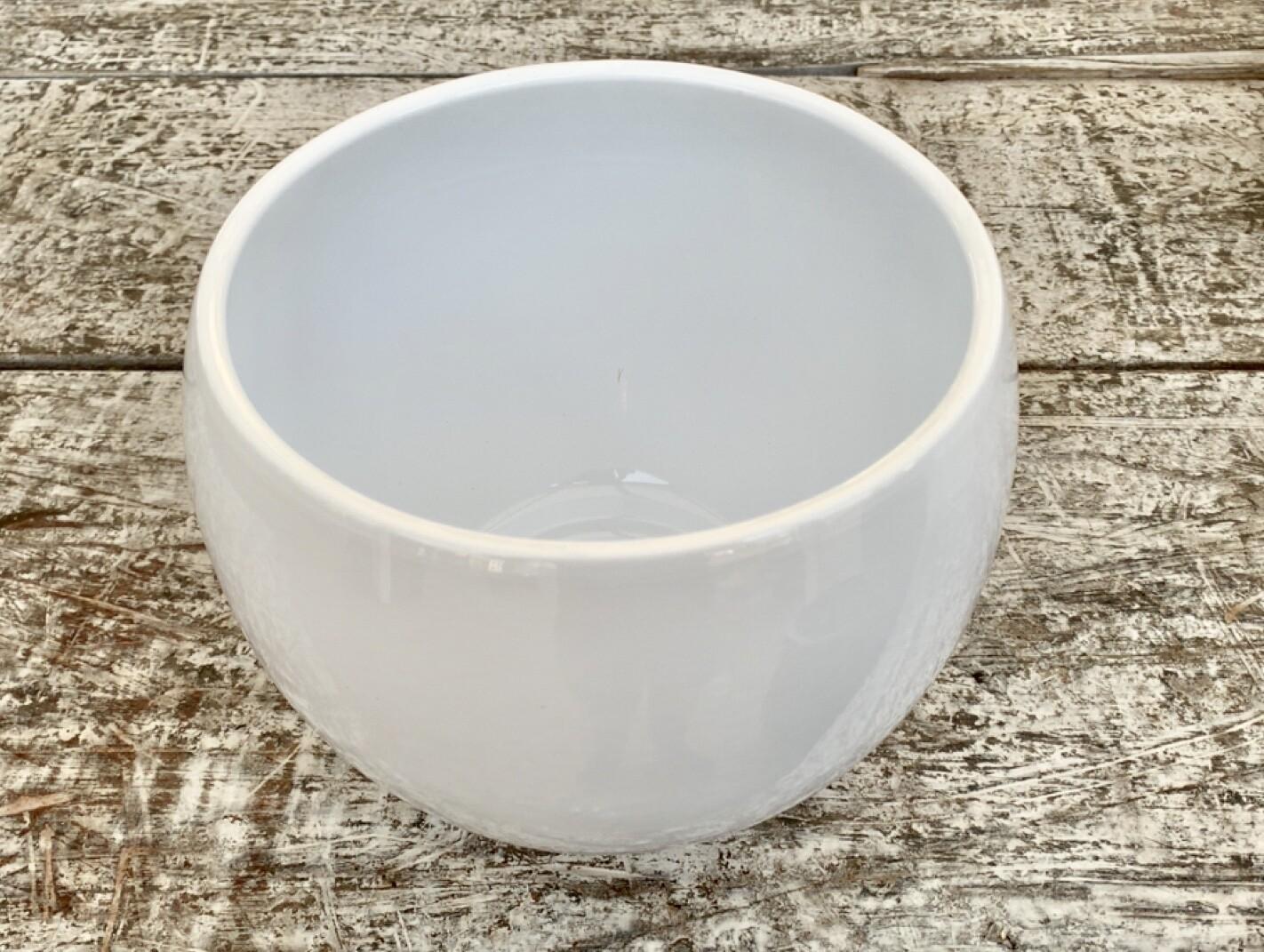Vaso Tondo in Ceramica Diametro 13