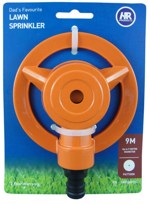 Dad's Favourite Lawn Sprinkler