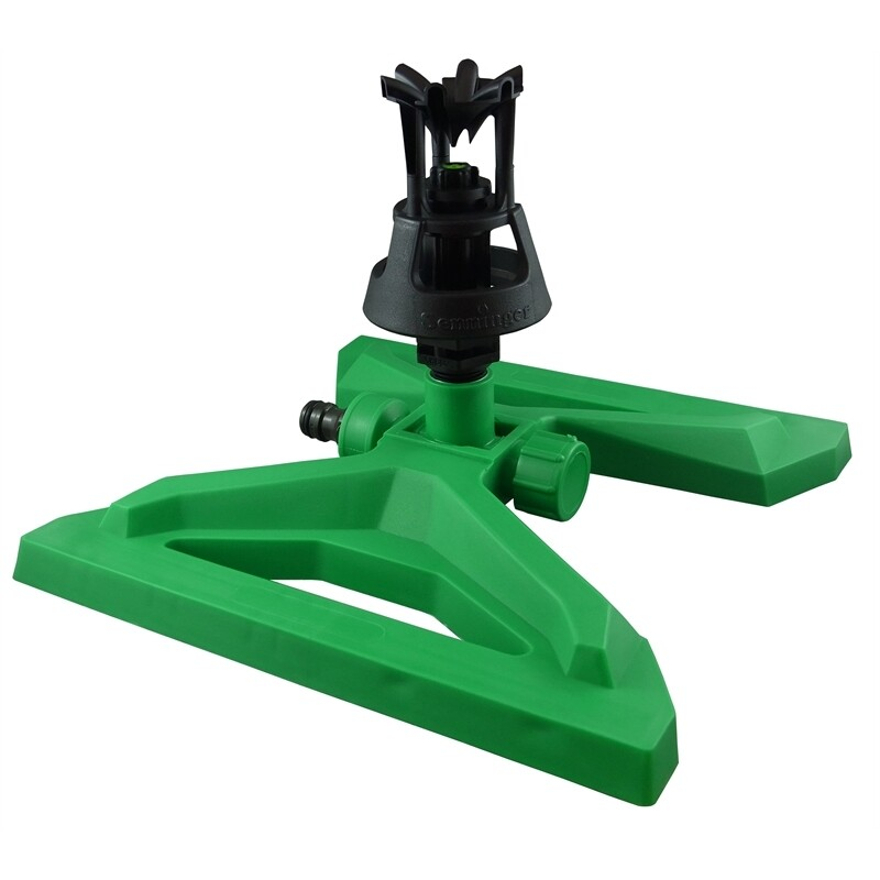 Wobbler Sprinkler on Plastic Sled Base