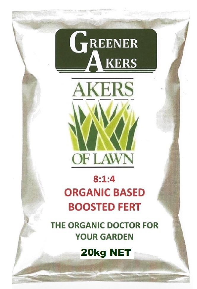 Akers of Lawn Organic Based Fertiliser 20kg