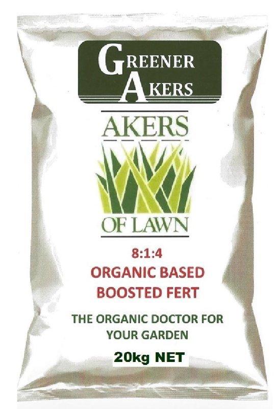 Akers of Lawn Organic Based Fertiliser 20kg