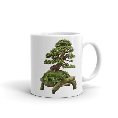Little Jade Bonsai Tortoise Mug
