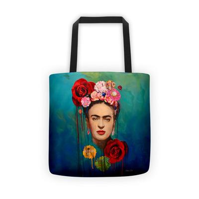 Frida Kahlo - The Radiant One - Tote bag