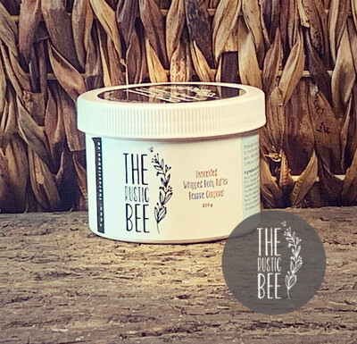 Unscented Whipped Body Butter 220g Jar